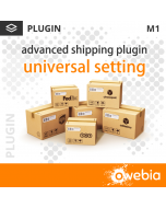 Plugin Universal Setting pour Advanced Shipping pour Magento 1