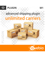 Plugin Unlimited Carriers pour Advanced Shipping pour Magento 1